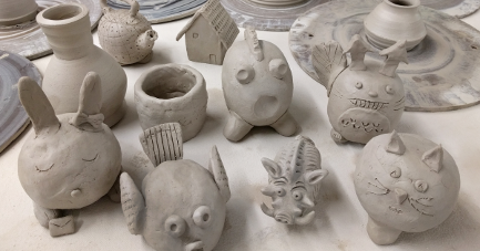 Clay Day At The Studio
